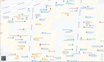 Bild von Google, Routenplaner Uhlandstrasse Berlin Gabriele Hoffmann